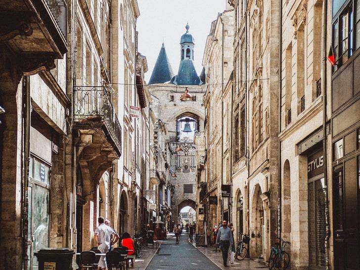 Ворота Большого колокола, Бордо