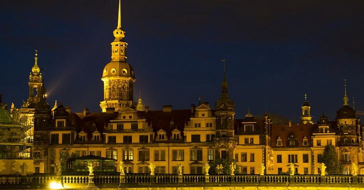 Дрезден вечерний