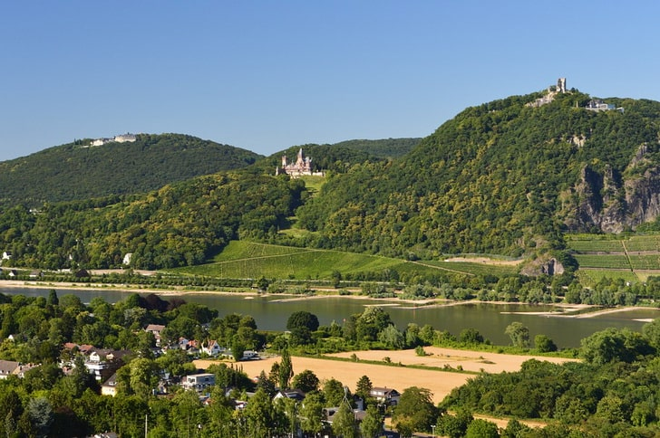 Драхенфельс и Драхенбург, Германия