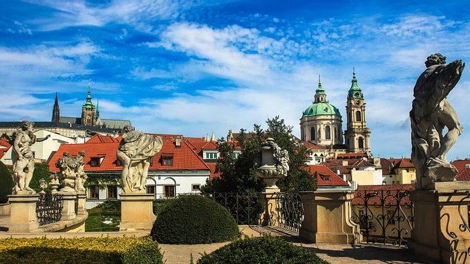 Прага, лето