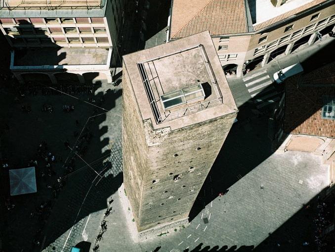 Башня Гаризенда в Болонье