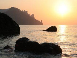 Крым, море, июль