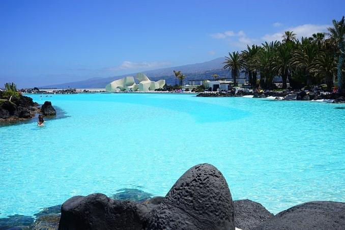 Бассейн с морской водой, Тенерифе