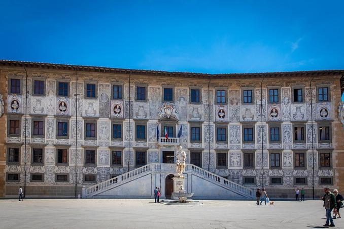 Палаццо делла Каровано, Пиза