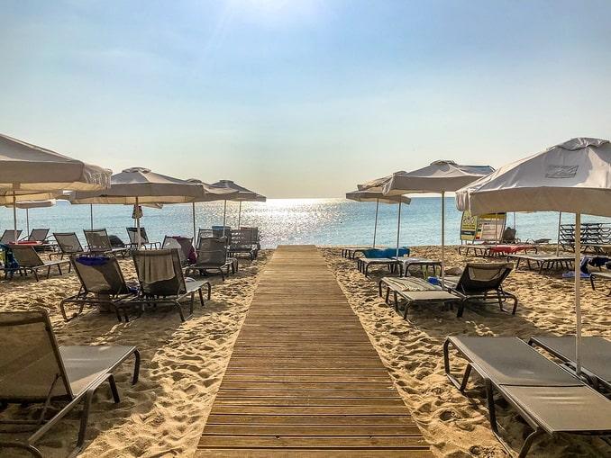 Болгария, пляж