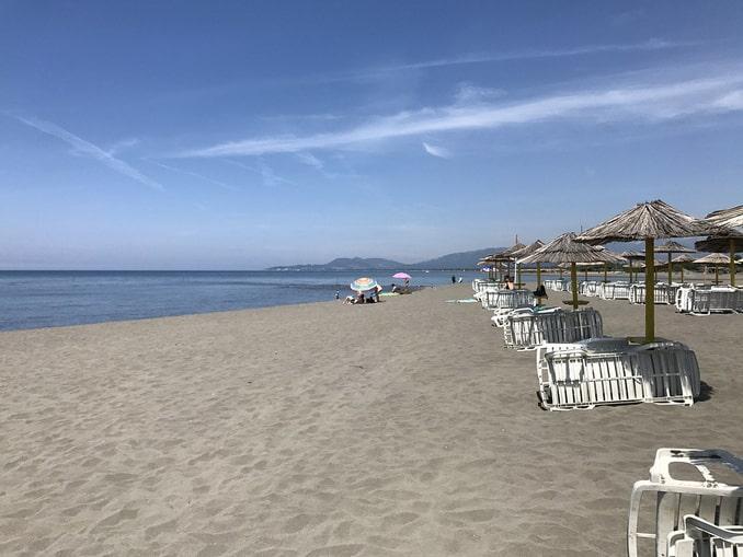 Пляж Ада Бояна, Черногория