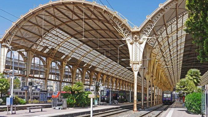 Вокзал в Ницце