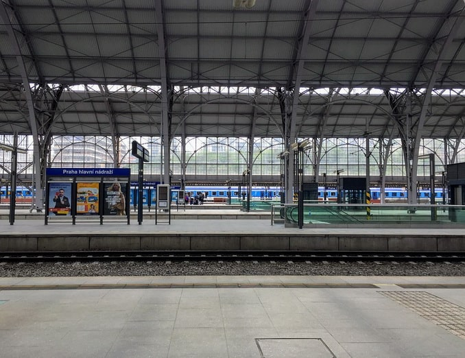 Прага, Главный вокзал