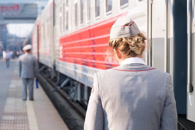 Поезд, Россия