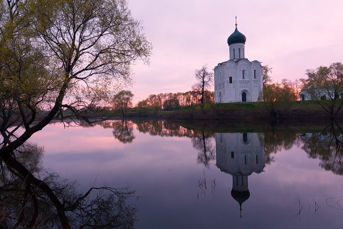 Церковь Покрова-на-Нерли, фото Игорь Сокальский