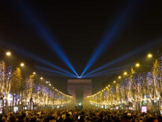Париж, Новый год