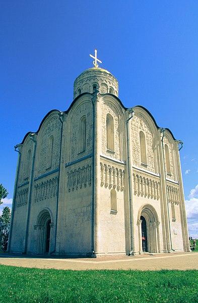 Дмитривеский собор во Владимире, фото Lenor