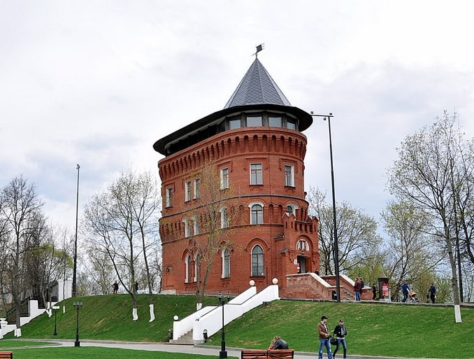 Водонапорная башня, Владимир, фото Arsclover