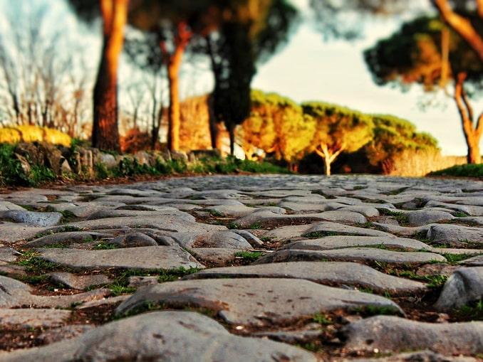 Рим, дорога
