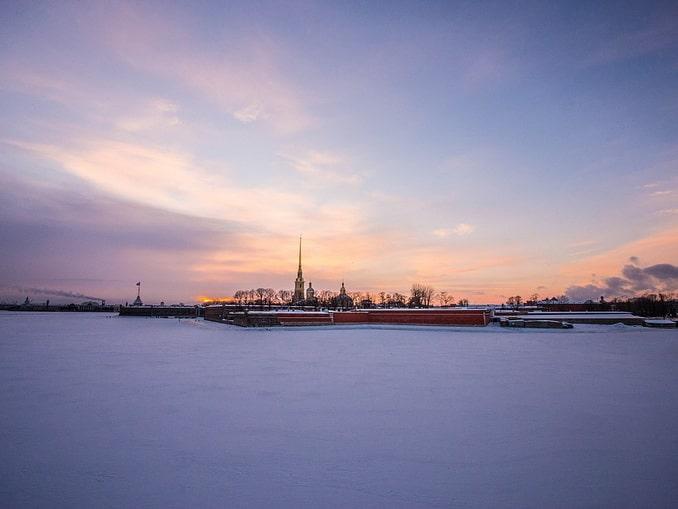 Петропавловская крепость, СПб