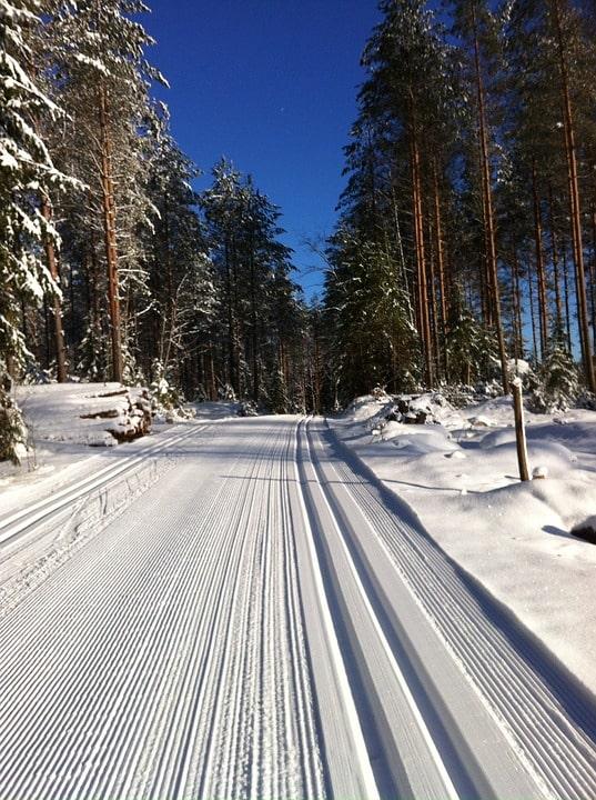 Лыжня, Финляндия