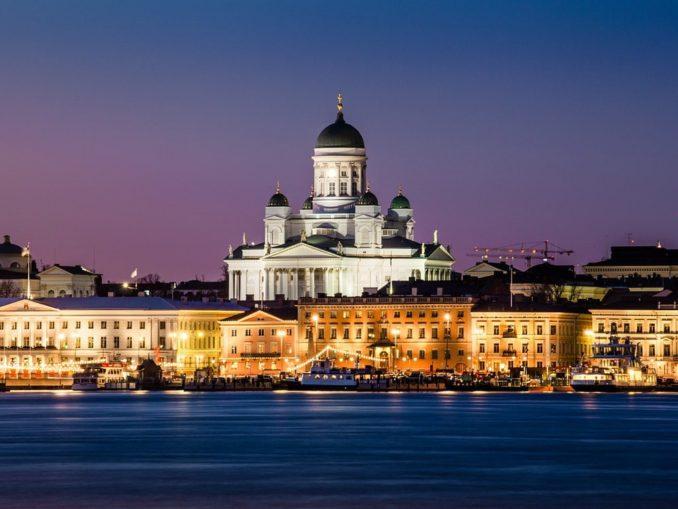 Хельсинки, вечер