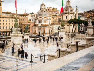 Рим, осень