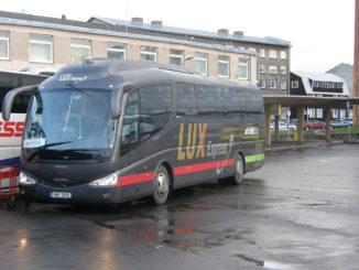 Автобус Lux Express в Таллине фото Kaarels