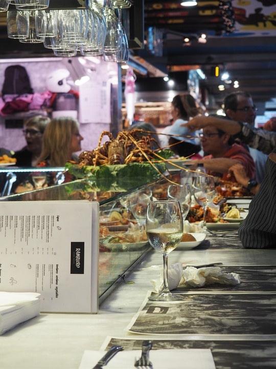 Ресторан в Барселоне