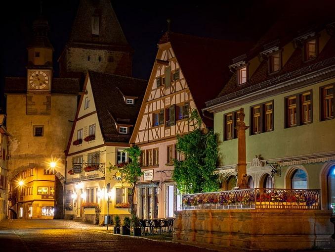 В Баварии нужно посетить городок Ротенбург-об-дер-Таубер