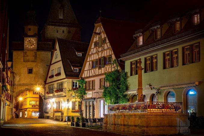 Ротенбург-об-дер-Тауберн, Бавария