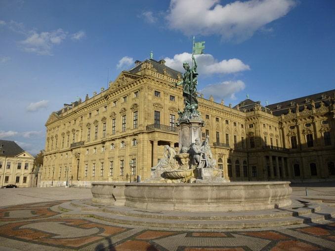 Вюрцбургская резиденция, Германия