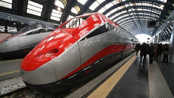 Frecciarossa, поезд Милан-Флоренция
