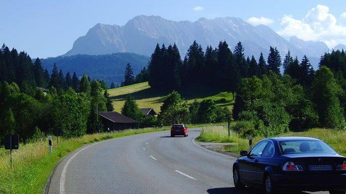 Дорога в Баварии