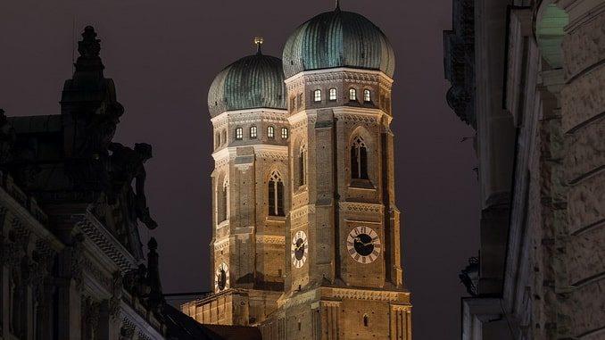 Мюнхен, башни Фрауэнкирхе