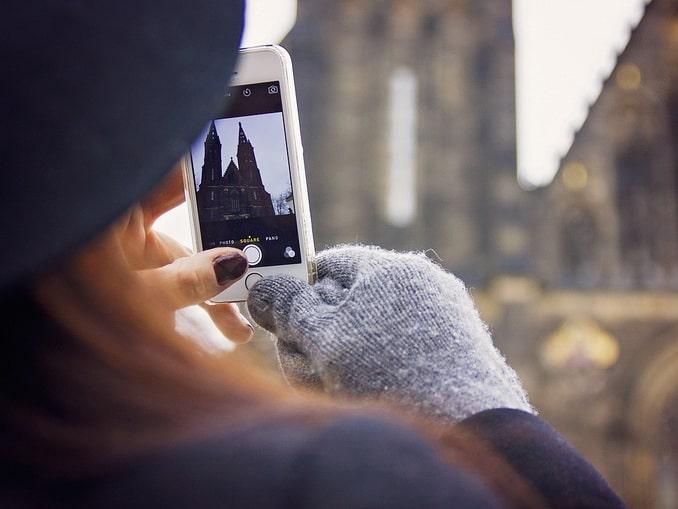 Прага, зима