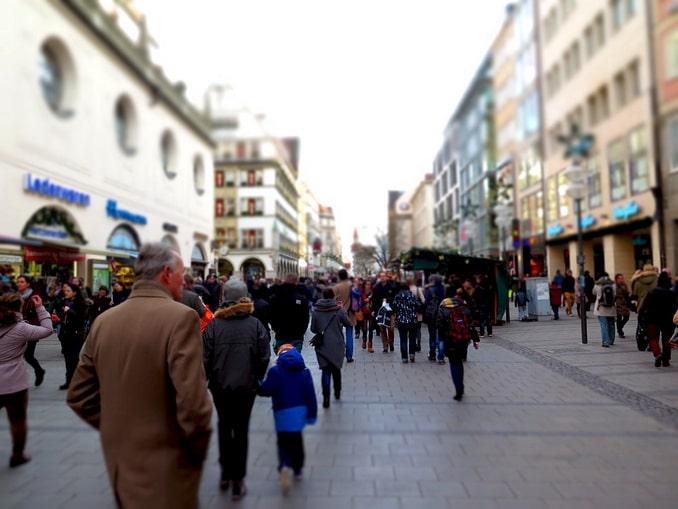 Мюнхен, пешеходная улица