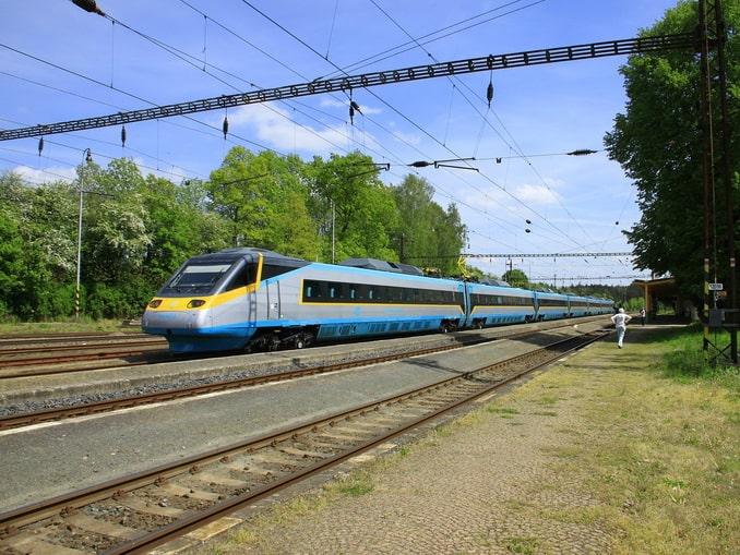 Поезд, Чехия