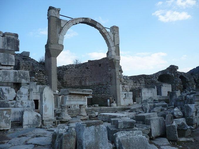 Руины Эфеса, Турция