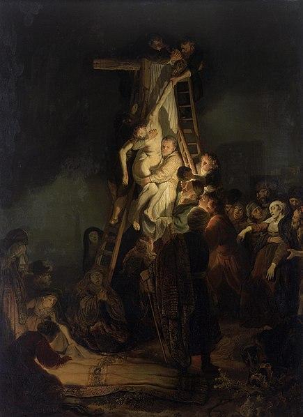 """Снятие с креста"", Рембрандт"