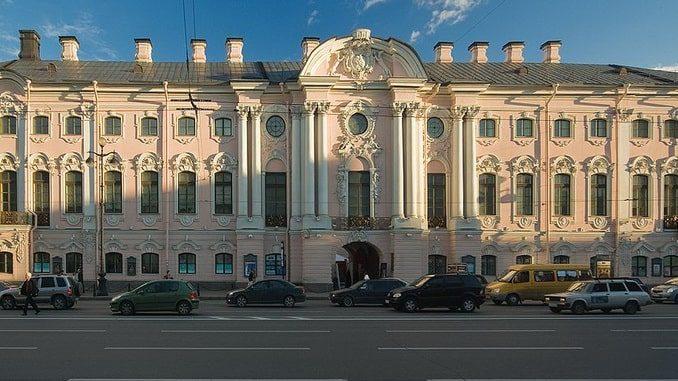 Строгановский дворец Санкт-Петербург