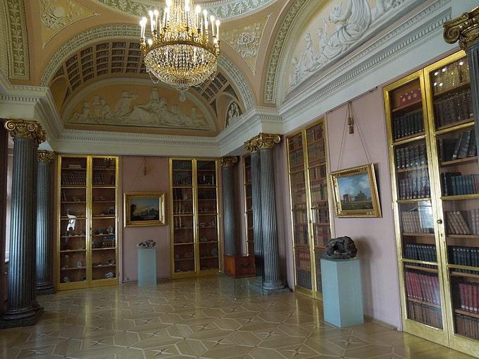 Минералогический кабинет Строгановского дворца