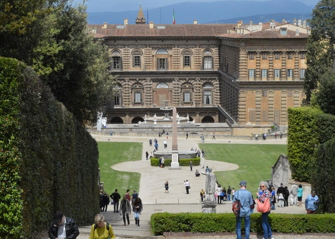 Палаццо Питти Флоренция