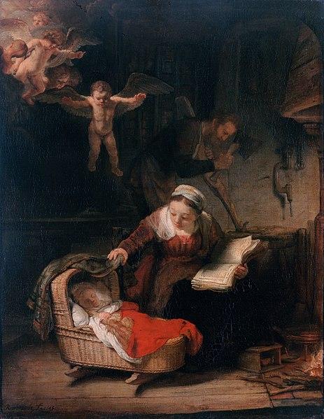 """""""Святое семейство"""", Рембрандт"""