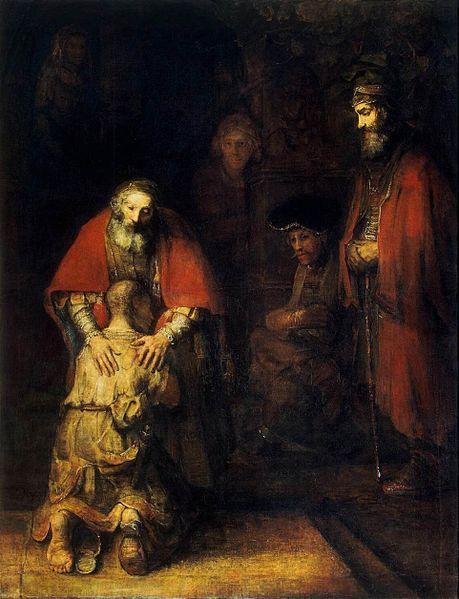 """""""Возвращение блудного сына"""", Рембрандт"""