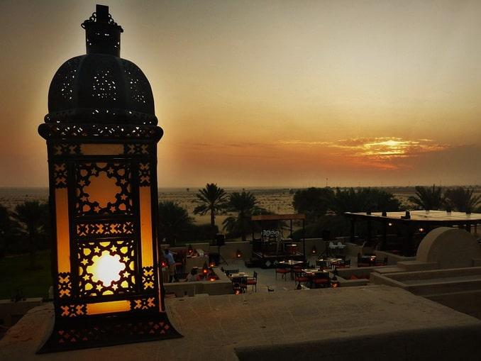 Закат в пустыне, Дубай