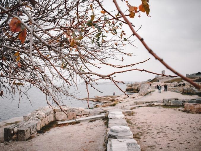 Херсонес в Крыму под Новый год