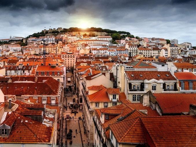 Лиссабон, старый город