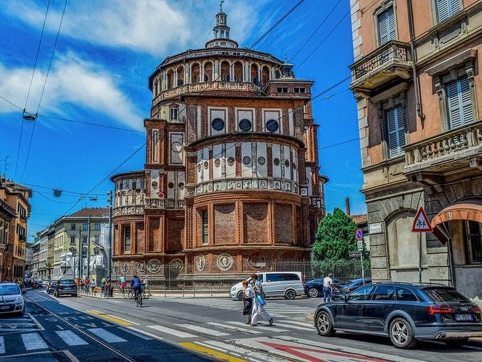 Санта-Мария делле-Грацие, Милан