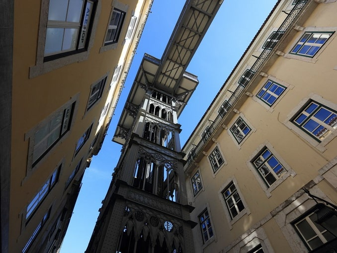 Санта-Жуста, Лиссабон