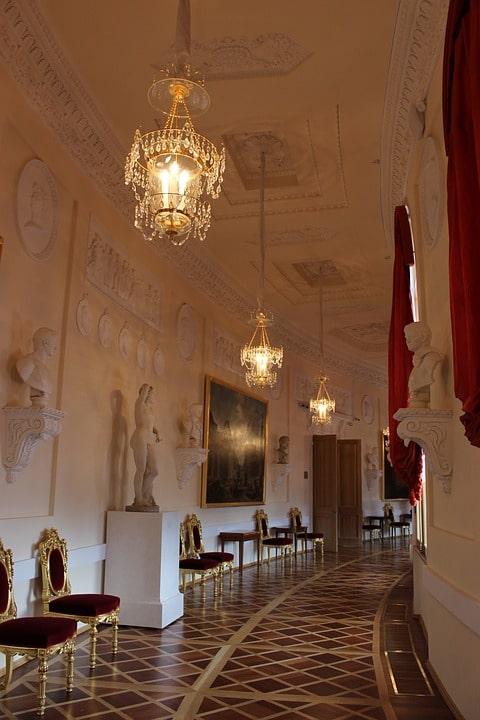 Греческая галерея Гатчинского дворца