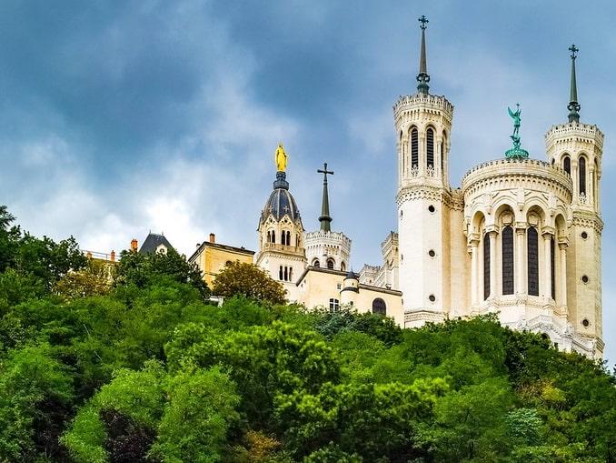 Лион базилика Нотр-Дам