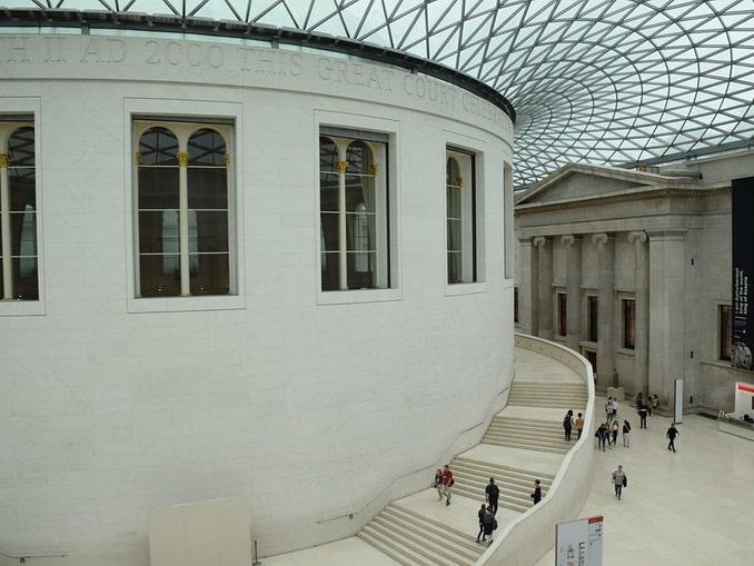 Атриум Британского музея в Лондоне