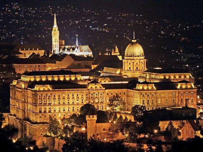 Будапешт, Королевский дворец