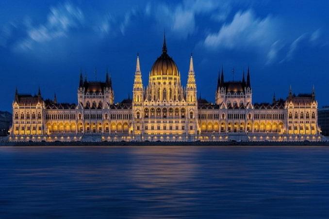 Венгерский парламент Будапешт
